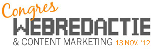 Congres Webredactie & Content Marketing